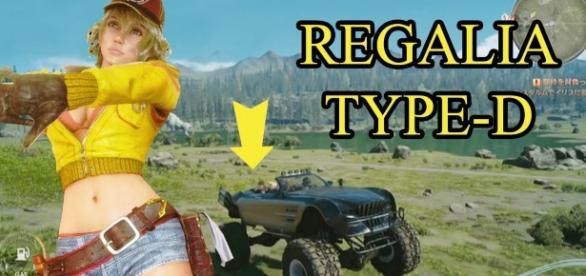 'Final Fantasy XV' patch1.12 adds off-road Regalia, preps for Episode Prompto(The Night Sky Prince/YouTube Screenshot)