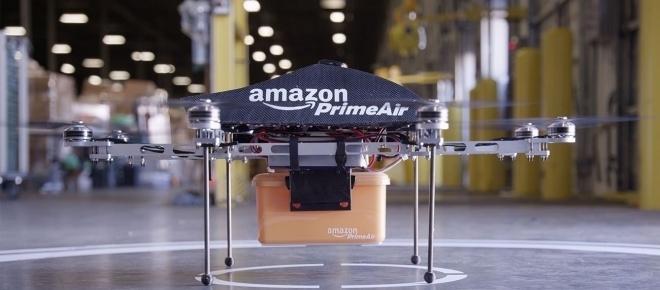 Prime Air: Amazon si servirà di droni per le consegne a domicilio