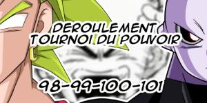 Déroulement du Tournoi du Pouvoir : Analyse des titres des épisode 98, 99, 100 & 101 de Dragon Ball Super !