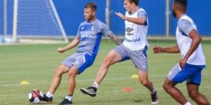 Jogador em treinamento pelo Grêmio (Foto: Lucas Uebel/Grêmio)