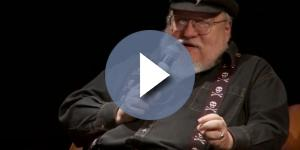 "George RR Martin reportedly targets to release ""The Winds of Winter"" this year. Photo by Caio Brito/YouTube Screenshot"