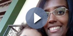 Jamile passou momentos de desespero até provar que a menina era sua filha (Foto: Reprodução/Facebook)