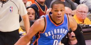 Russell Westbrook By Erik Drost from United States (Cleveland Cavaliers vs. Oklahoma City Thunder) [CC BY 2.0 via Wikimedia Commons