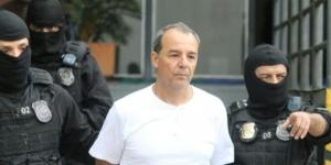 Sérgio Cabral está preso em Benfica, zona norte do Rio de Janeiro (Foto: Reprodução)