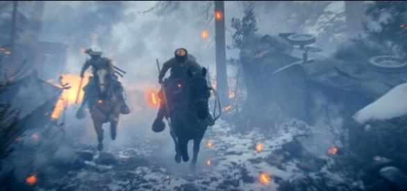 """""""Battlefield 1's"""" next DLC is called """"In the Name of the Tsart,"""" which will feature the Russian army (via YouTube/Battlefield)"""