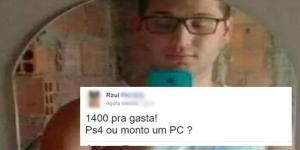 Garoto faz post no Facebook e recebe comentário que não esperava