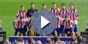 Atletico Madrid 2014 - Team photo