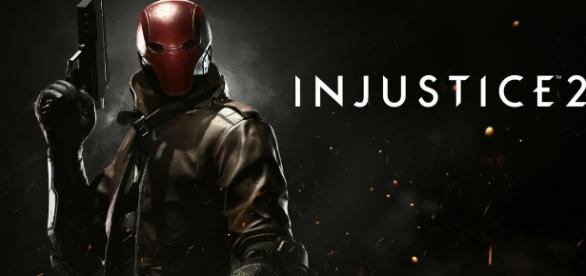 """Red Hood is the newest character confirmed to arrive to """"Injustice 2"""" next month (via YouTube/Injustice)"""