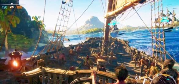 """Ubisoft confirmed that a narrative campaign will arrive to """"Skulls and Bones"""" (via YouTube/Ubisoft US)"""