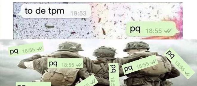 Confira uma conversa de WhatsApp que não deveria ter acontecido
