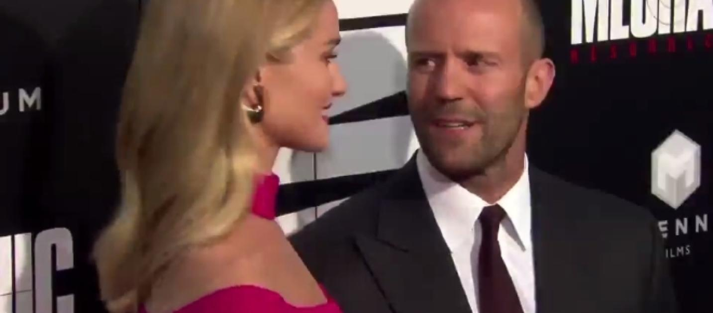 Jason Statham and Rosi...