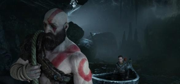 """""""God of War 4"""" director says that the game shares similarities with the """"Dark Souls"""" franchise (via YouTube/PlayStation)"""