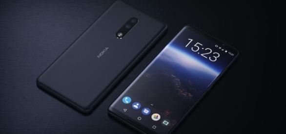 New Nokia 9 Concept Render With Bezel-less Design, Dual-Lens ... - gizmochina.com