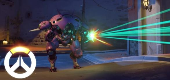 "The new ""Overwatch"" status features D.Va's Meka and Hana Song (via YouTube/PlayOverwatch)"