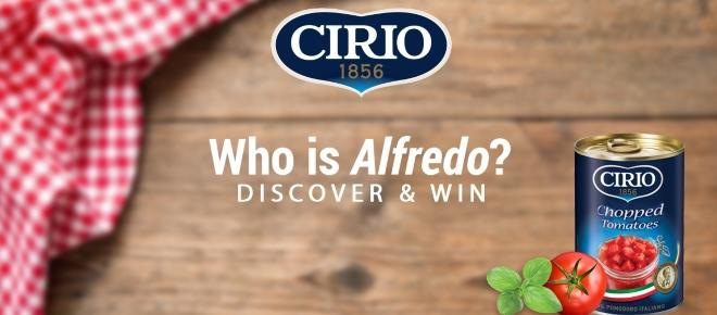 Cirio's 'Who's Alfredo?' is a food selfie connoisseur's dream competition
