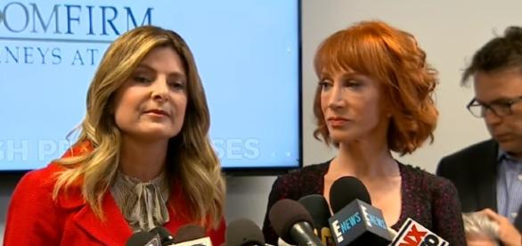 Kathy Griffin on Donald Trump photo scandal / Photo screencap from ABC News via Youtube