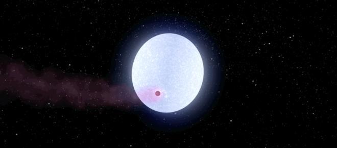 Encuentran un planeta como Júpiter, pero más caliente que muchos soles