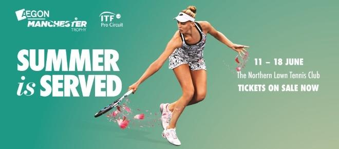 Manchester to show one love for Tennis by hosting grass court Aegon Trophy