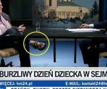 Michnik w programie Morozowskiego (fot. wykop.pl)