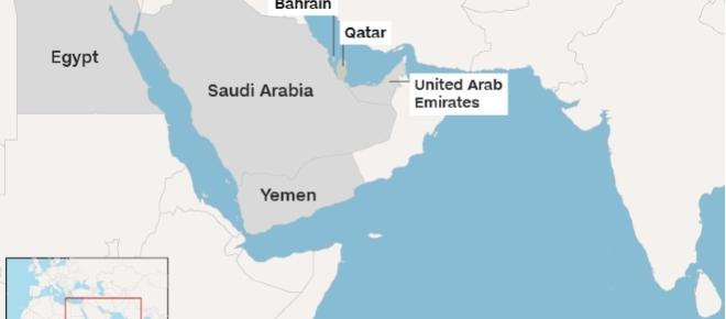 Four Gulf states cut ties with Qatar. Negative economic impacts expected.