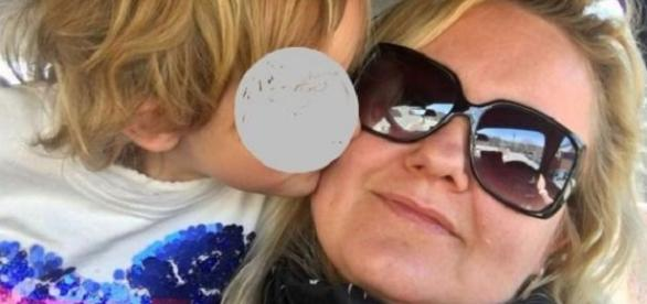 Valentina şi fiica ei de doar 6 ani