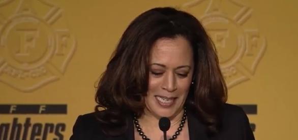 Sen. Kamala Harris screencap from IAFF via youtube
