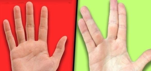 Separar os dedos pode ser uma tarefa complicada para alguns (Foto: Google)