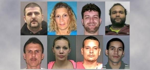 Photo 8 of 9 drug dealers arrested - courtesy Drug Enforcement Agency