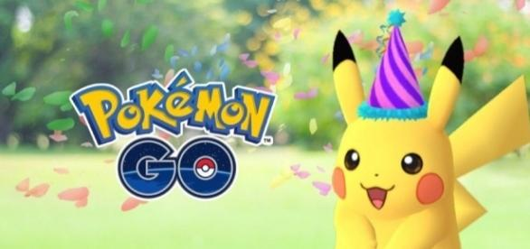 'Pokemon Go' anniversary celebrations are being planned.   from 'PokeJungle' - pokejungle.net