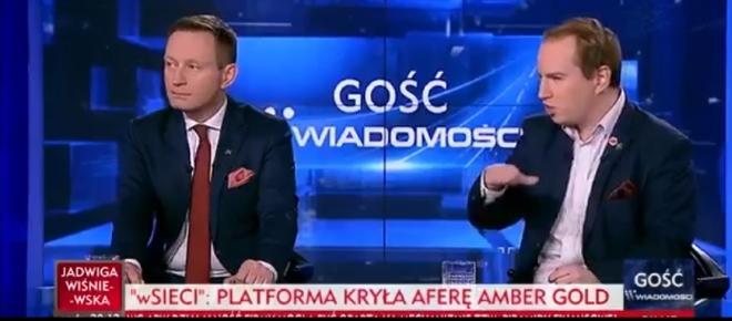 Andruszkiewicz ostro o PO i Amber Gold: 'Na samej górze był Donald Tusk' [WIDEO]