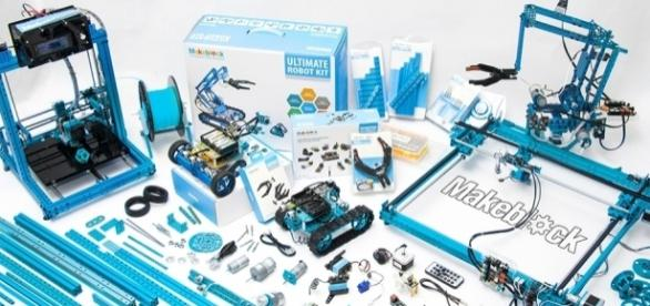 Makeblock, robot kits for kids, is an example of crowdfunded hardware success. (Photo via Makeblock)