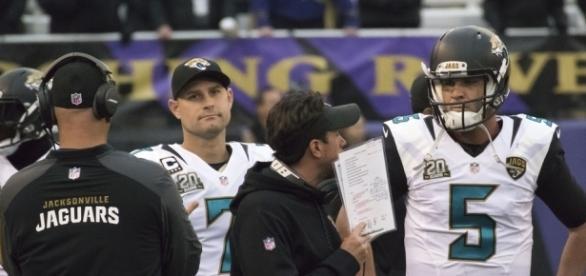 Chad Henne, Blake Bortles | Jaguars at Ravens 12/14/14 | Flickr - flickr.com