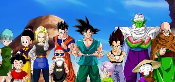 Dragon Ball Super characters via Flickr