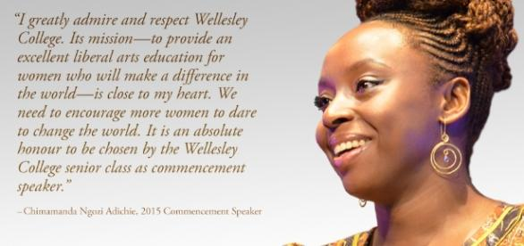 Chimamanda Ngozi Adichie Announced as 2015 Wellesley College ... - wellesley.edu