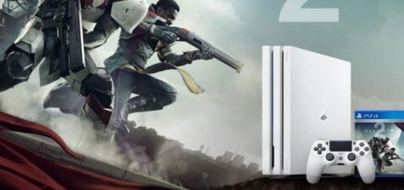 Sony starts preorder for white PS4 Pro and Destiny 2 bundle / Photo via PlayStation Blog