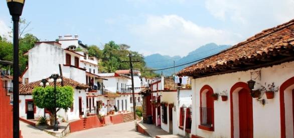 Pueblo pintoresco Villa Tapijulapa