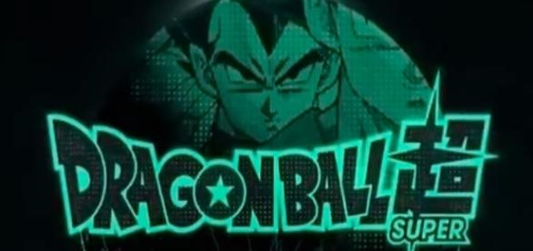 Dragon Ball Super tv show logo image via a Youtube screenshot