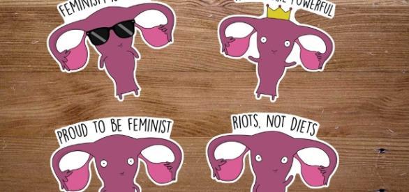 Feminist sticker   Etsy - etsy.com