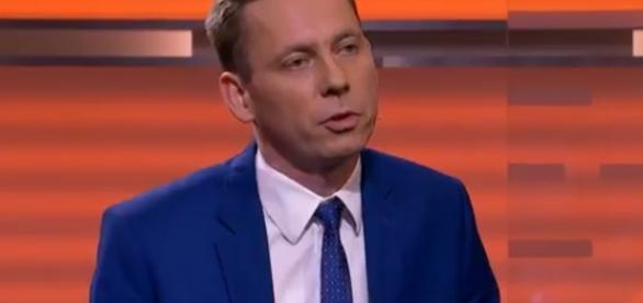 Konwiński na swój sposób przymila się Grzegorzowi Schetynie (źródło: twitter.com).