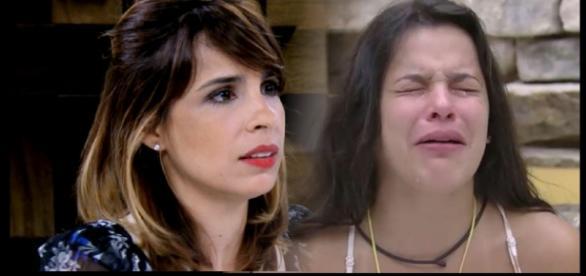 Maria Ribeiro conta que não fazia ideia de quem era Emilly Araújo quando tirou foto ao lado da ex-BBB