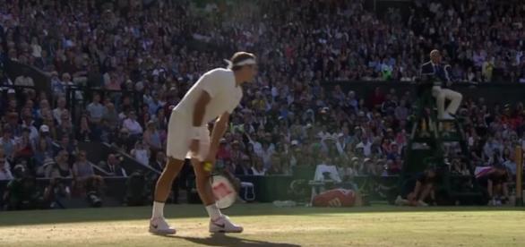 Roger Federer alla sua 11 finale a Wimbledon