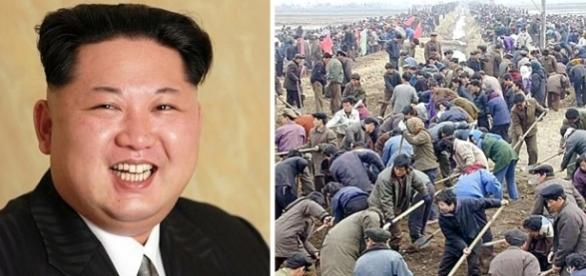 """Zeci de mii de nord-coreeni lucrează în Rusia în """"condiții similare sclavilor"""" - Foto: Daily Mail (via AFP/Getty Images)"""