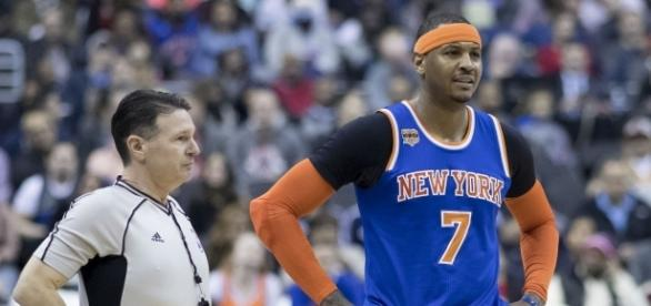 Carmelo Anthony is confident the Knicks will pursue his trade to the Rockets – Keith Allison via WikiCommons