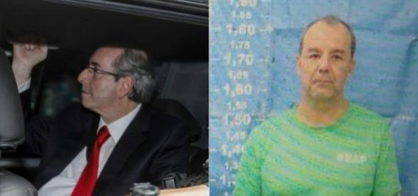 Cunha e Cabral: presos pela Operação Lava Jato