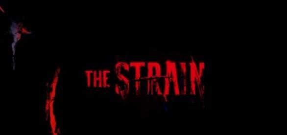 The Strain tv show logo image via a Youtube screenshot