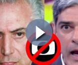 Michel Temer declara guerra à Globo - Google