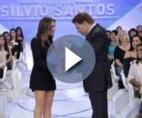 Silvio Santos recebe carta onde diz que Patricia está grávida