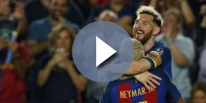Neymar y Messi una dupla exitosa en el F.C. Barcelona