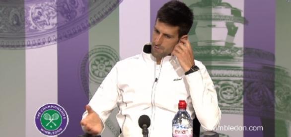Novak Djokovic/ Image -Wimbledon official channel | Youtube