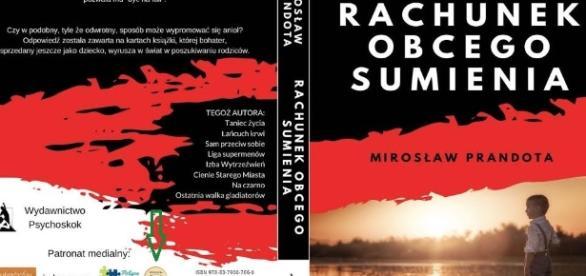 Okładka książki 'Rachunek obcego sumienia' (fot. wielbicielka-ksiazek.blogspot.com)